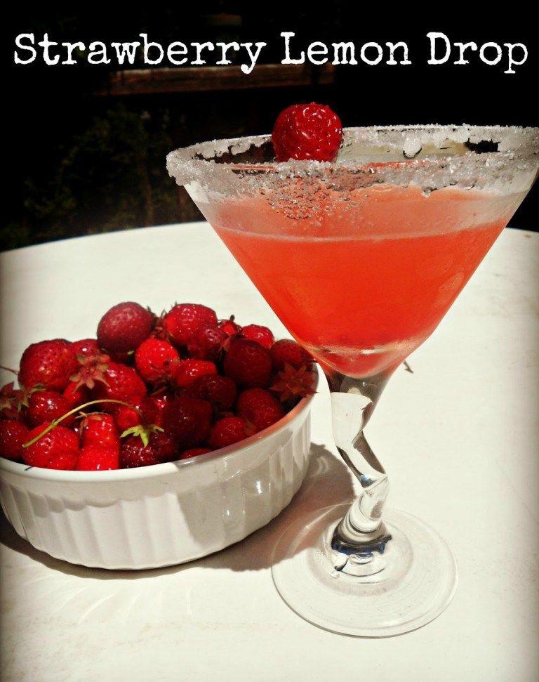How to make a strawberry lemon drop melissa kaylene