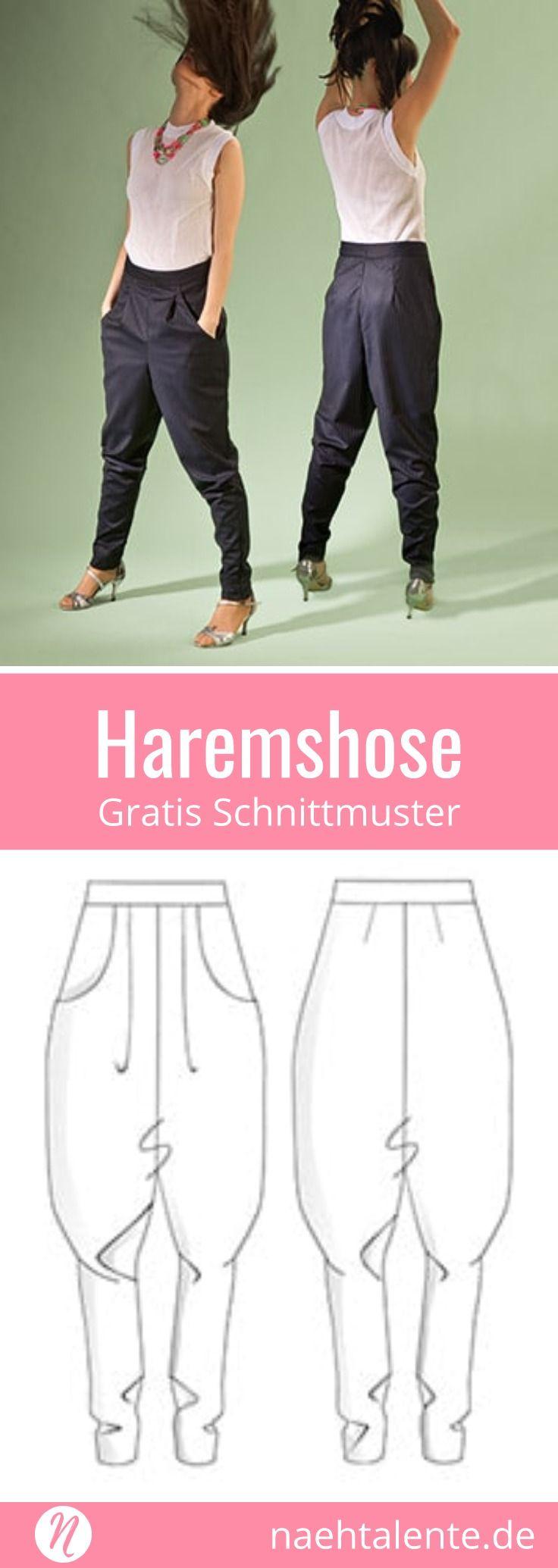 Haremshose für Damen | Le quotidien, Essayer et Projet