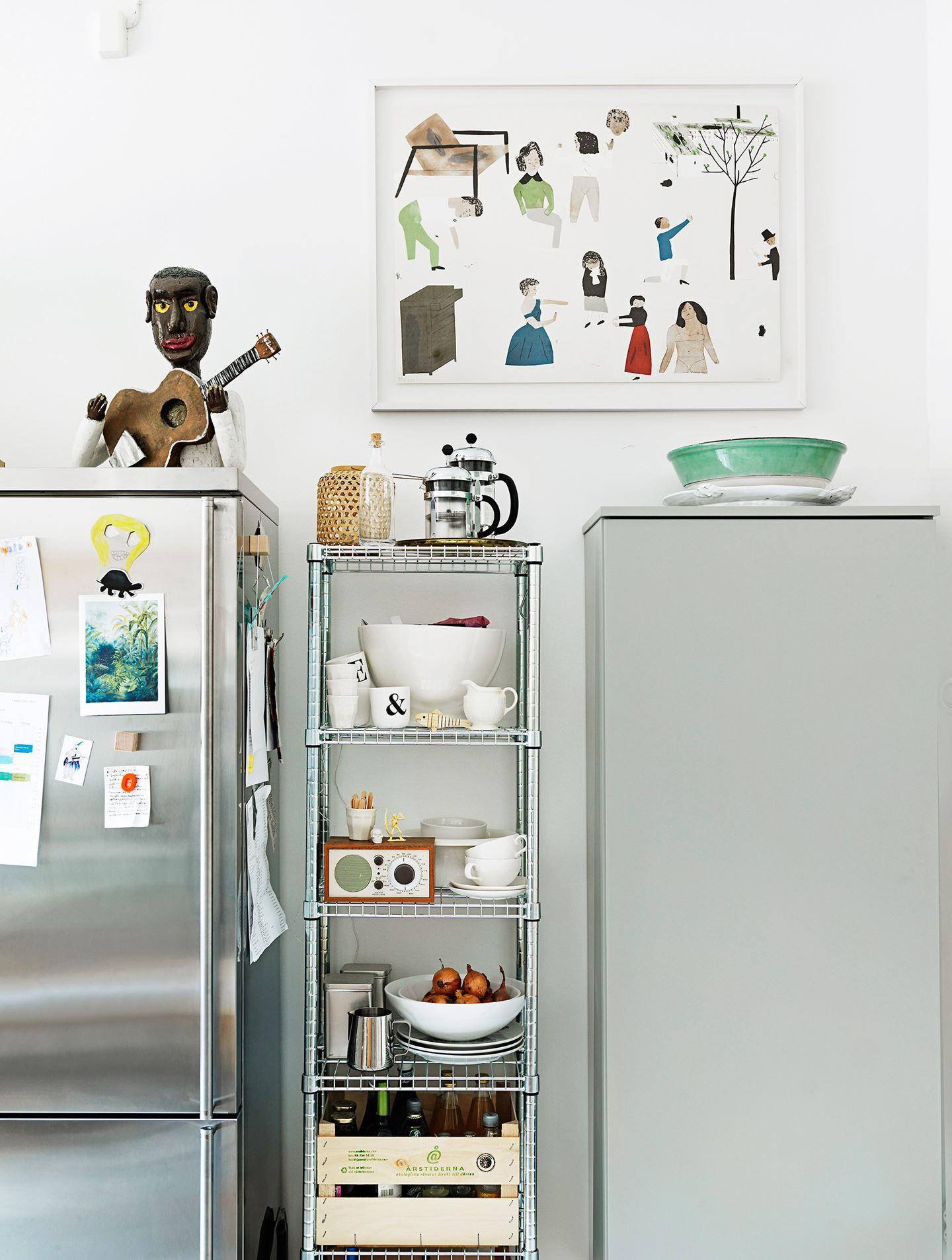 Ikea \'Omar\' metallic shelf | Home vibes | Pinterest | Shelves ...