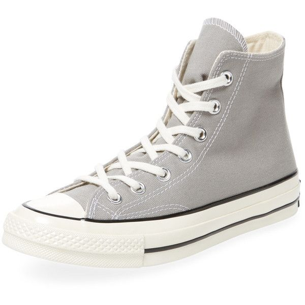 ada94fef61bb Converse Women s Chuck Taylor  70 Hi-Top - Light Pastel Grey ( 59) ❤ liked  on Polyvore featuring shoes