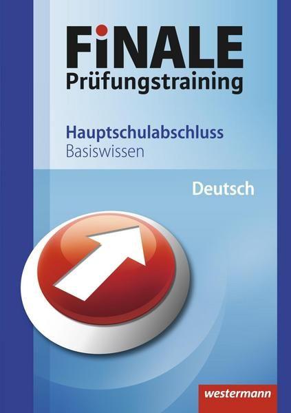 FiNALE Prüfungstraining / FiNALE - Prüfungstraining Hauptschulabschluss