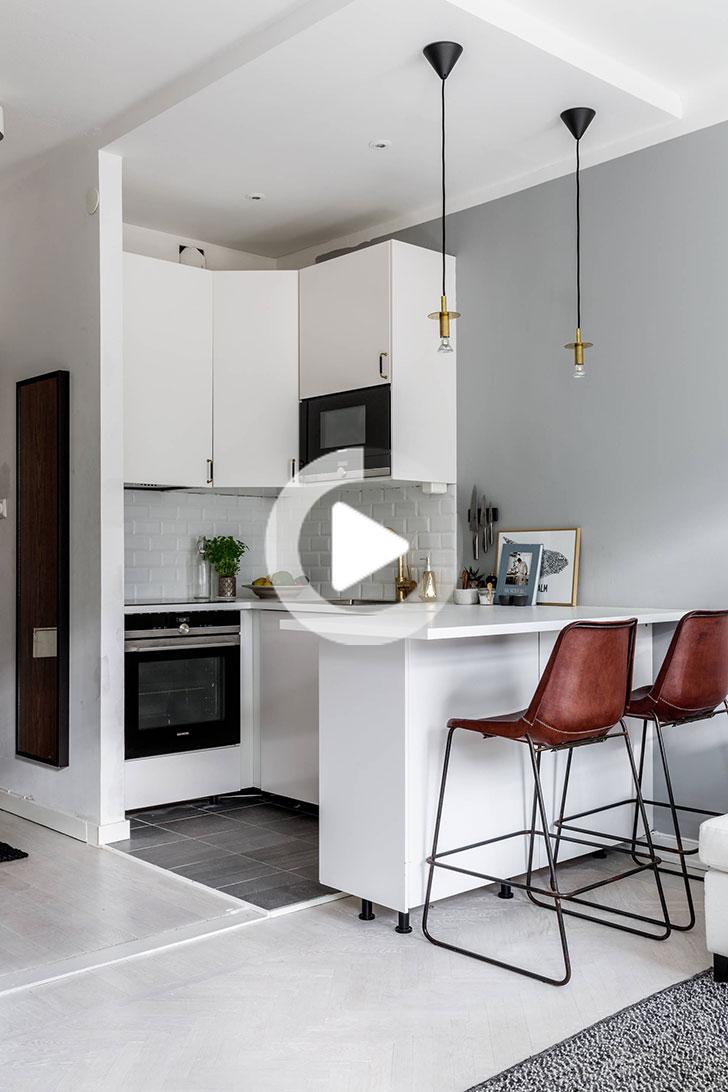 Epingle Par Ivana Abbate Sur Mini Kitchen En 2020 Cuisine De Petit Appartement Plans Petits Appartement Cuisine Appartement