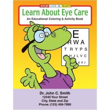 About Eye Care Coloring Book Optometry Practice Pinterest Room - new coloring pages for eye doctor