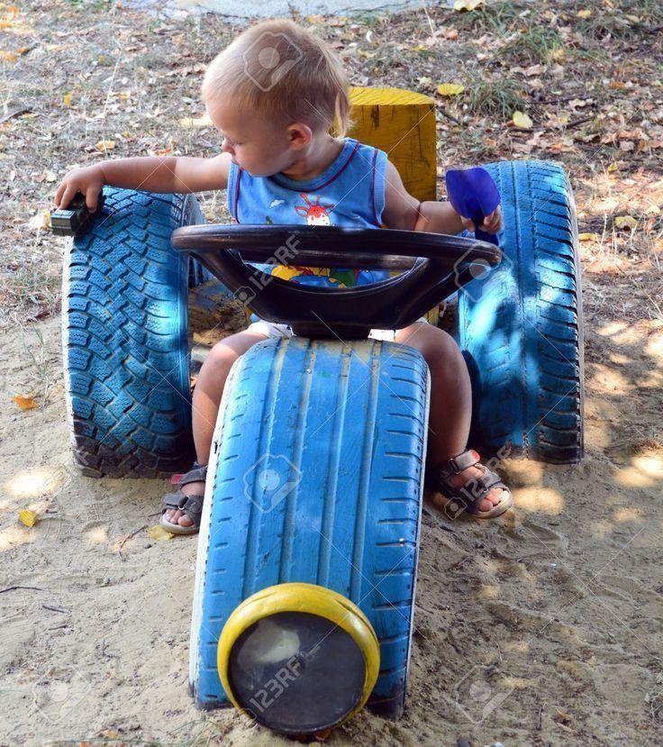 Bildergebnis für Spielplatz mit Autoreifen – #Aut.