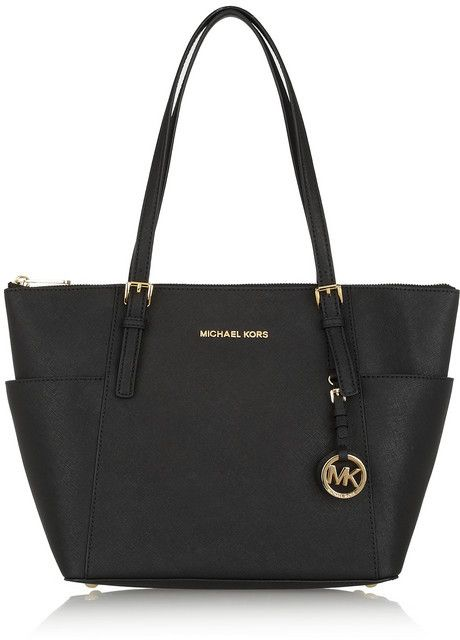 54a57c8adb3c0e $250, Michl Michl Kors Jet Set Textured Leather Tote by MICHAEL Michael Kors.  Sold by NET-A-PORTER.COM.