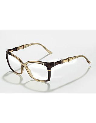 38cc87f5e26 Bamboo Fashion Glasses #gucci   optical illusion.   Gucci bamboo ...