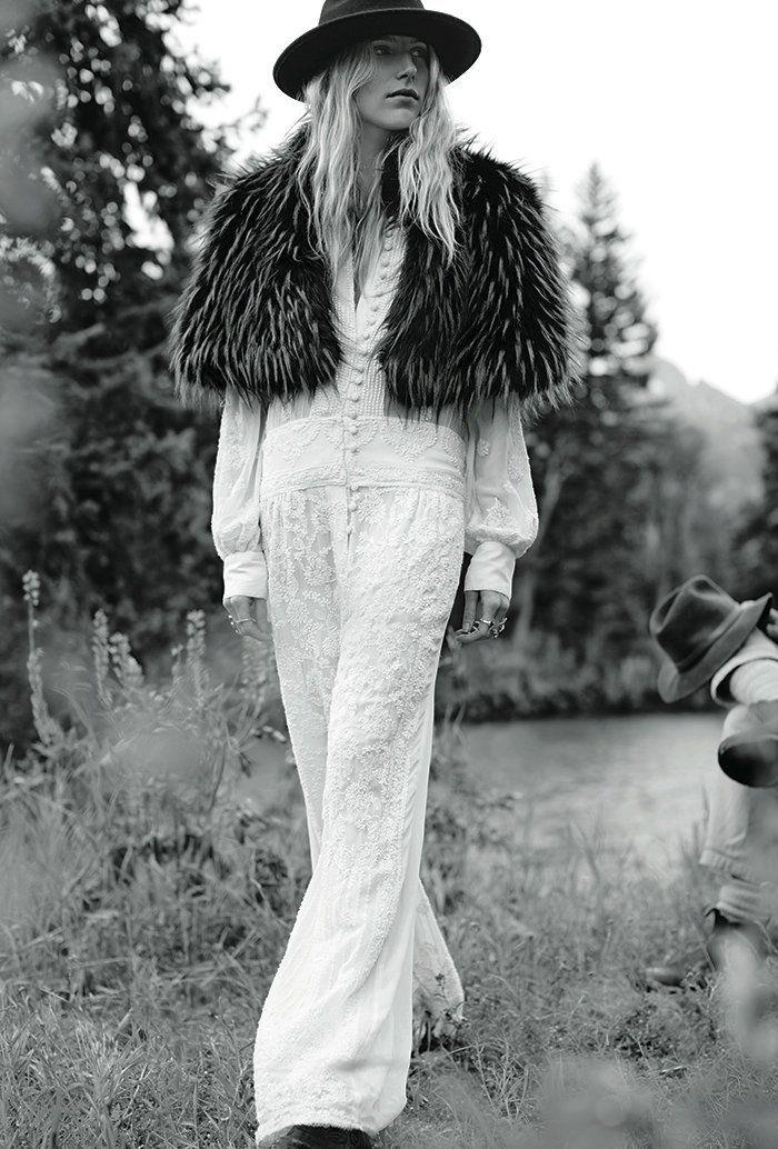 Dree Hemingway para Free People Outubro 2014 [Fashion]
