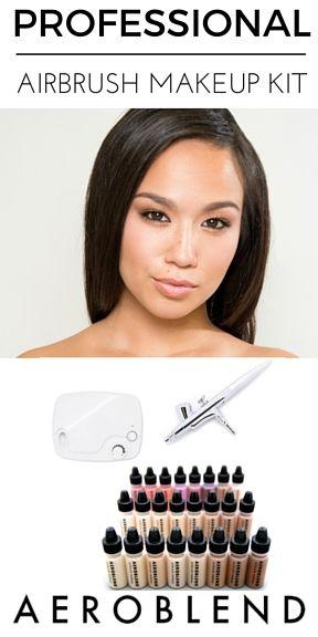 Makeup Tutorial For Beginners, Beginner Makeup, Airbrush Makeup Kit, Makeup Starter Kit,