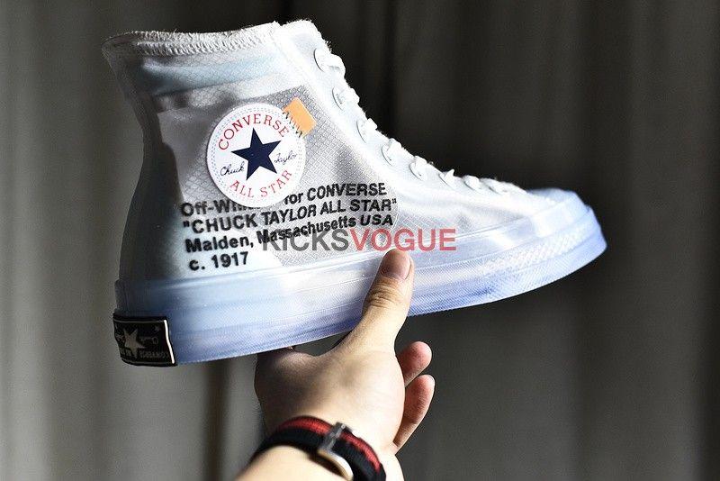 c68e32c46bf3 The Ten  Off White Converse Chuck Taylor All Star Hi AA3836-100 ...