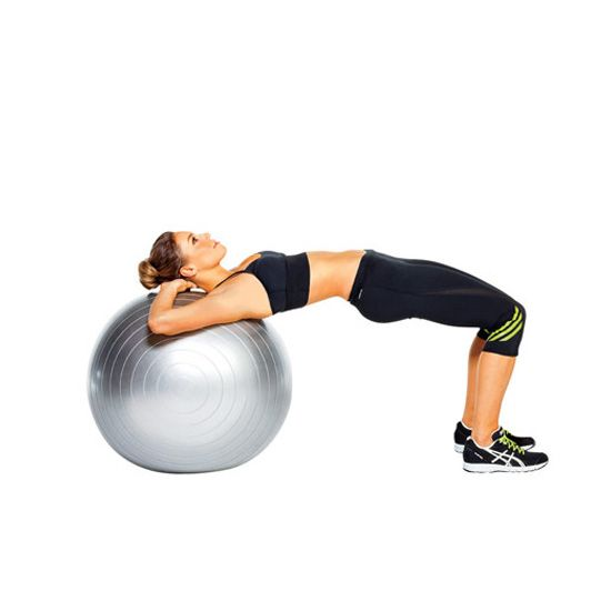 Stability Ball Moves: Firm Your Butt In 6 Moves
