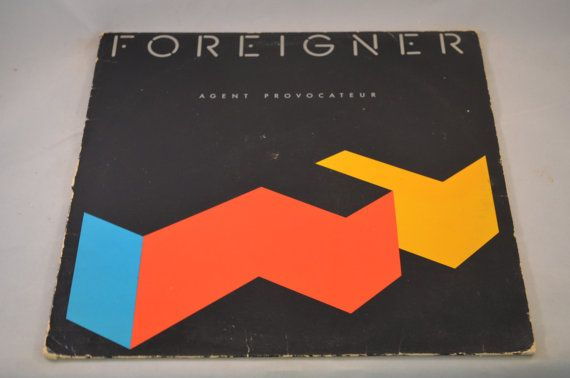 Vintage Record Foreigner Provocateur Album 81999 1 E Etsy Agent Provocateur Provocateur Love Songs Radio