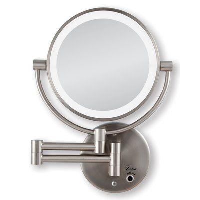 Charlton Home Vannatta Glam Beveled Makeup Shaving Mirror