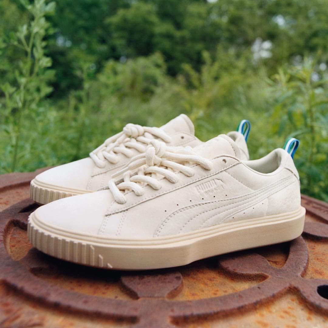 Big Sean x Puma Breaker   White sneaker