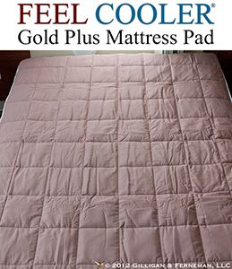Feel Cooler Gold Plus Cooling Mattress Pad With Outlast Gold Plus