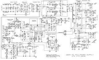 200 Watt ATX Power Supply