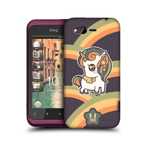 HEAD CASE AUTUMN FANCY UNICORN DESIGN SNAP-ON HARD BACK CASE COVER FOR HTC RHYME