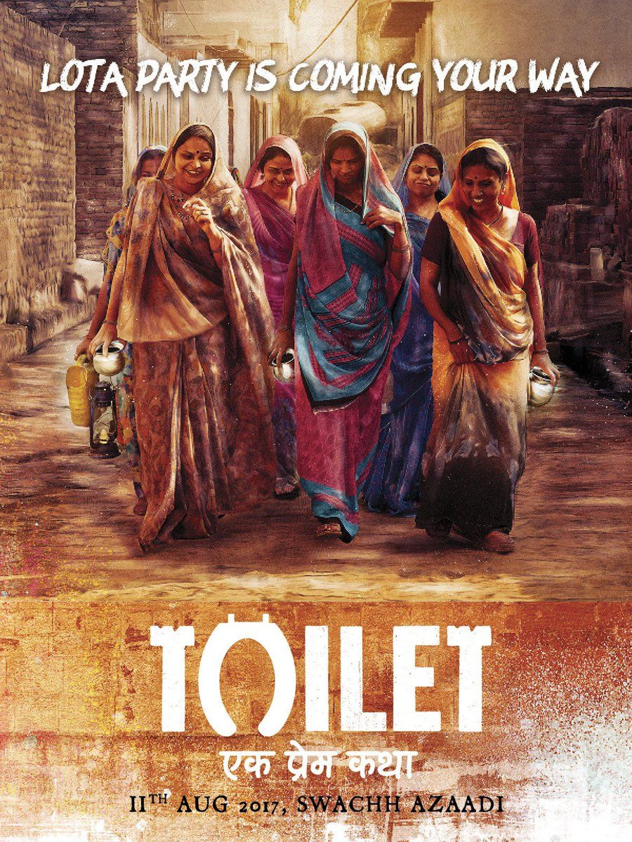 Akshay Kumar Movie 'Toilet-Ek Prem Katha' new posters , Releasing date.
