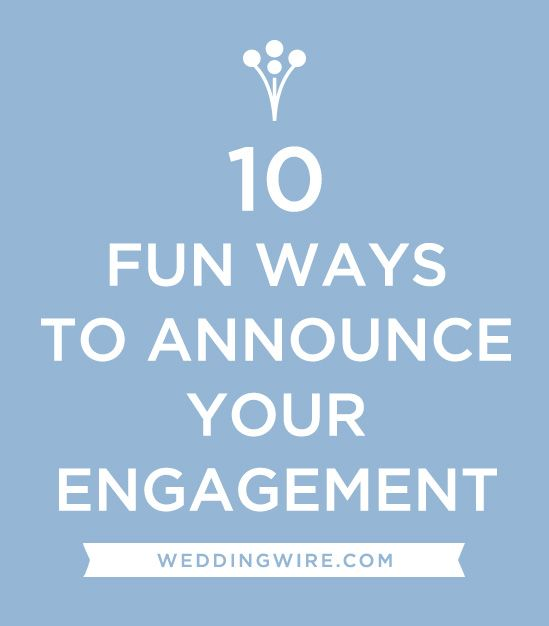 Announce your engagement with WeddingWires 5Step Planning Guide