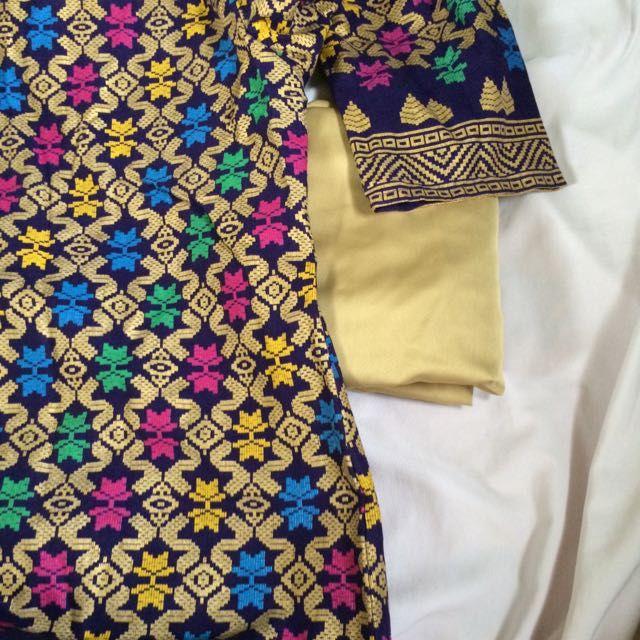 Baju Kurung Moden Songket Sarawak di Carousell  Pallets