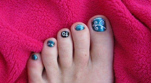Christmas Toe Nail Design 2013 Nail And Hair Care Tips And Tricks