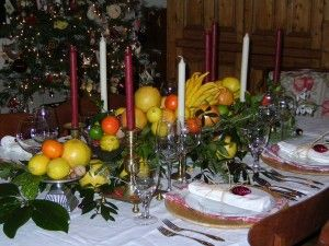 Fruit Of The Spirit Christmas Dining Table Dinner Table Decor Christmas Table Centerpieces