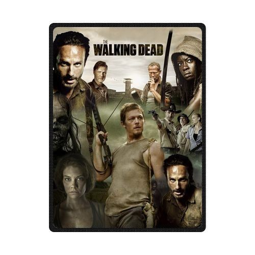 Walking Dead Throw Blankets Customize Diy Design The Walking Dead New And High Quality Cotton