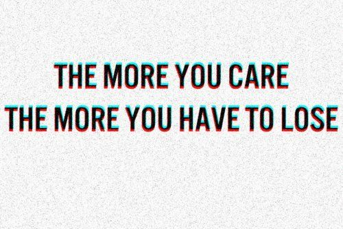 Reason Why I Dont Care.