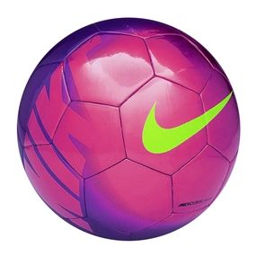 newest 15e56 84482 Nike Mercurial Mach Soccer Ball (Fireberry Pink Green) love these colors!