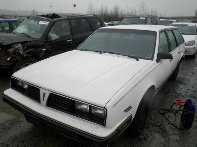 Wow A 1986 Pontiac 6000 Wagon Still Out There That Is A Rare