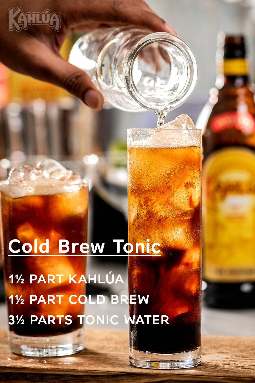 Kahlúa Cold Brew Tonic in 2020 Alcohol drink recipes