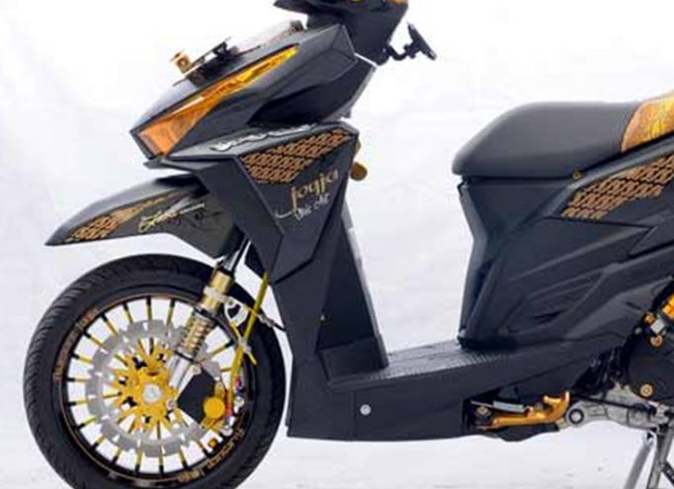 Modifikasi Honda Vario 150 Esp Simple Sticker Desain Honda