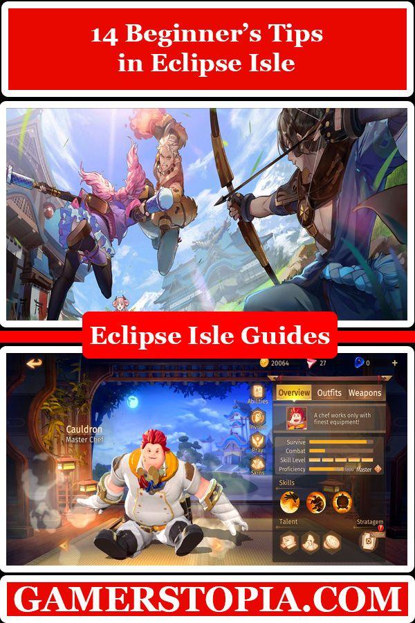 14 Beginner's Tips in Eclipse Isle gamerstopia