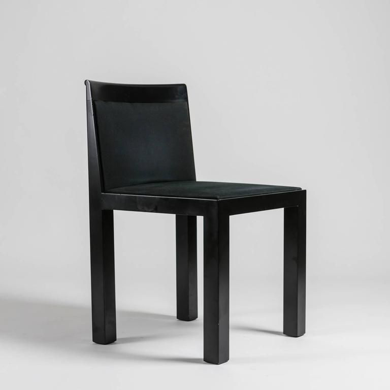 set of four teatro chairs by aldo rossi for molteni teatro
