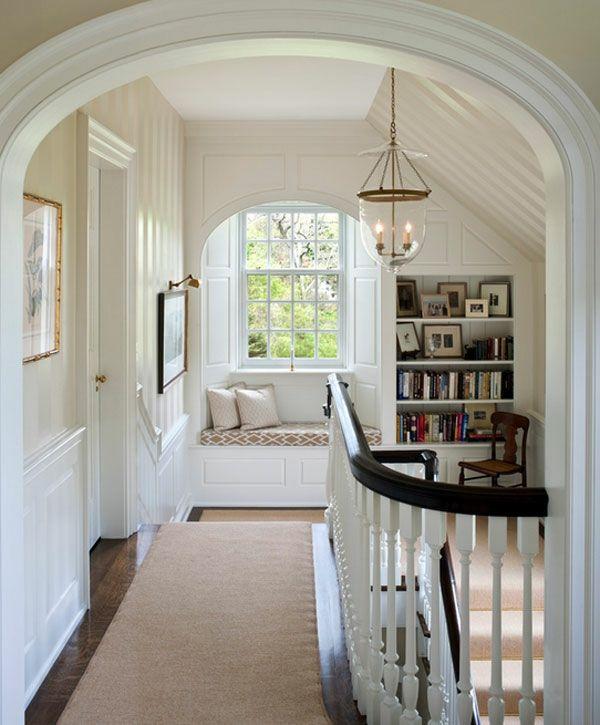 fenster nische im treppenhaus neutrale farben wohnen pinterest neutrale farbe nische und. Black Bedroom Furniture Sets. Home Design Ideas