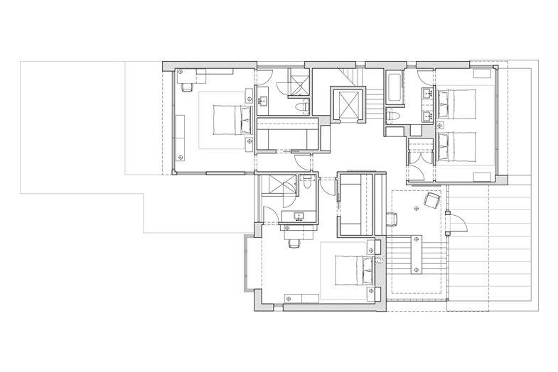 Lakeview Contemporary Massey Associates Architects Architecture Portfolio Design City Living Apartment Plan Design