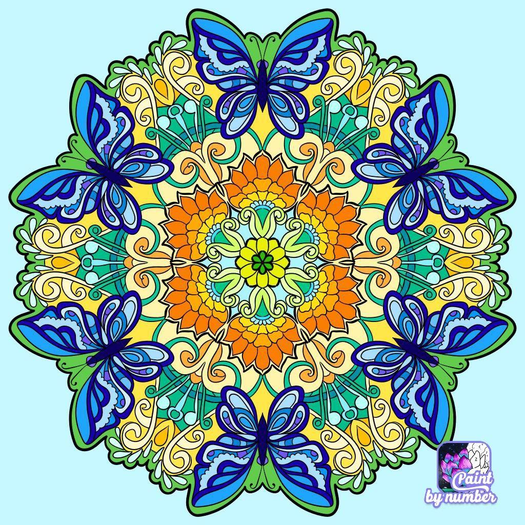 Pin Van Patricia Doris Vasquez Franco Op Arco Iris Color Y Mandalas Kleuren Curacao Nummers