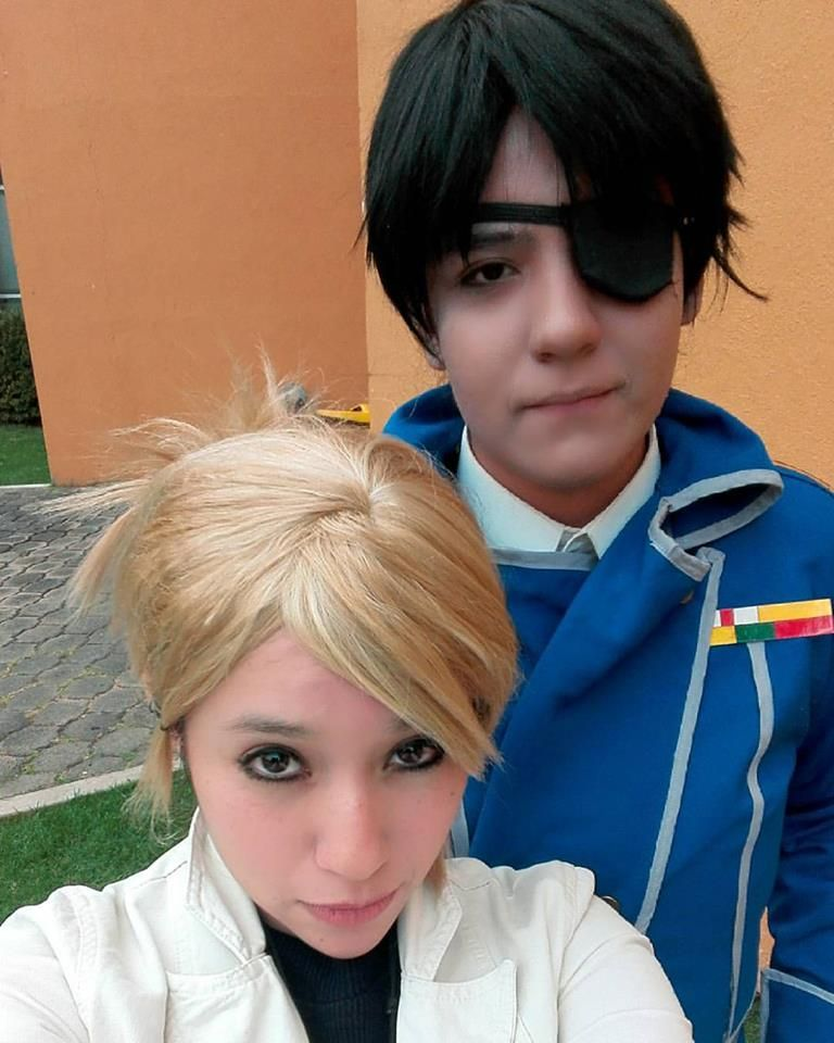 FMA  Riza Hawkeye and Roy Mustang