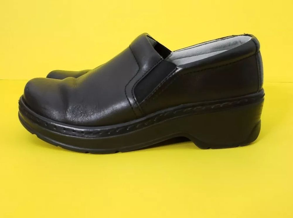ccbfd625ef53 Klogs Footwear Naples Slip Resistant Women Size 7.5 Professional Leather  Clogs  KlogsFootwear  Clogs