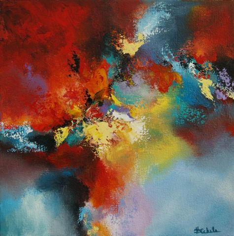 Painting Color color stormcalifornia artist nancy eckels - abstract