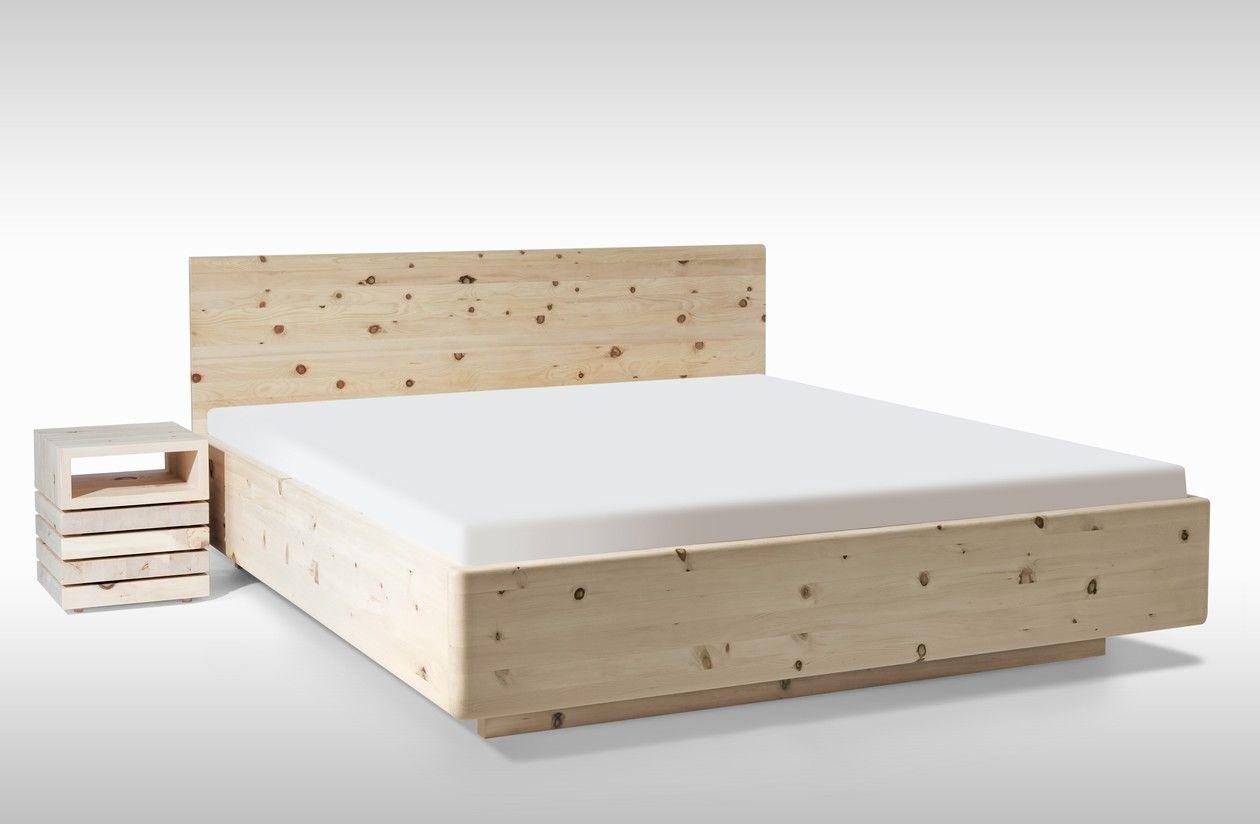 Massivholzbett schwebend  Antheo Soft Arve Zirben Bett von #Woodyness ab 2 620,00 € Freuen ...