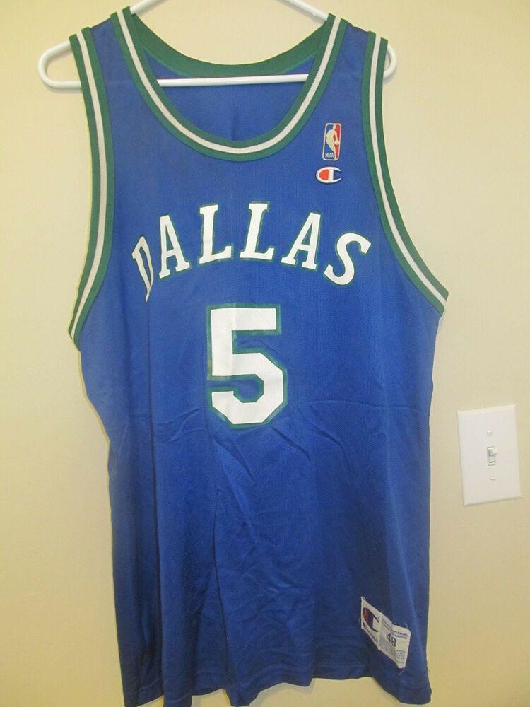 the latest 5abeb 1ad6e Jason Kidd - Dallas Mavericks jersey - Champion Adult 48 ...