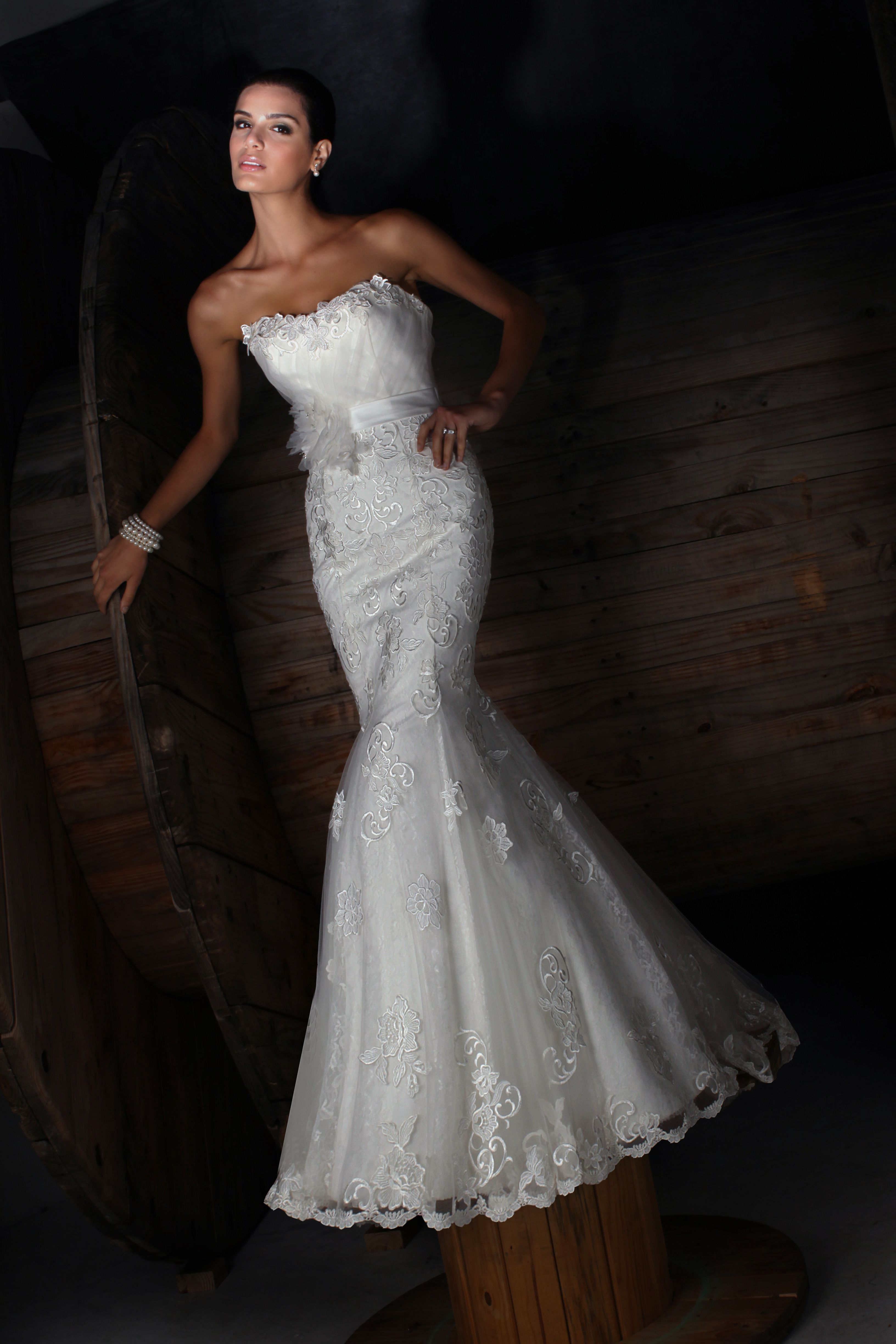 Impression Bridal Wedding Dress Style 10166. Available in