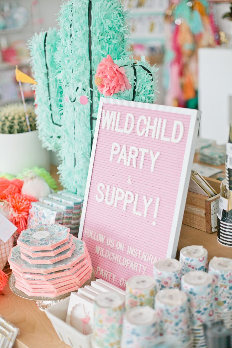 Shop Spotlight Wild Child Party Kids Party Supplies Party