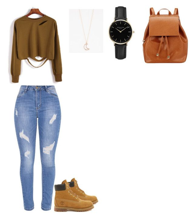 """""""Untitled #51"""" by selise-miles on Polyvore featuring Barneys New York, Timberland, ROSEFIELD and Full Tilt"""
