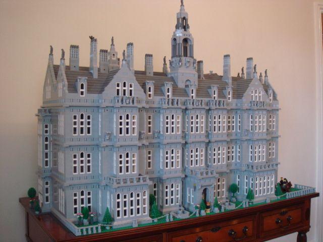 Dsc00922 Lego Mansion Lego House Lego