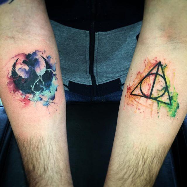 Resultado De Imagen De Star Wars Harry Potter Tatto Tatuajes De Star Wars Tatuajes De Galaxias Tatuajes