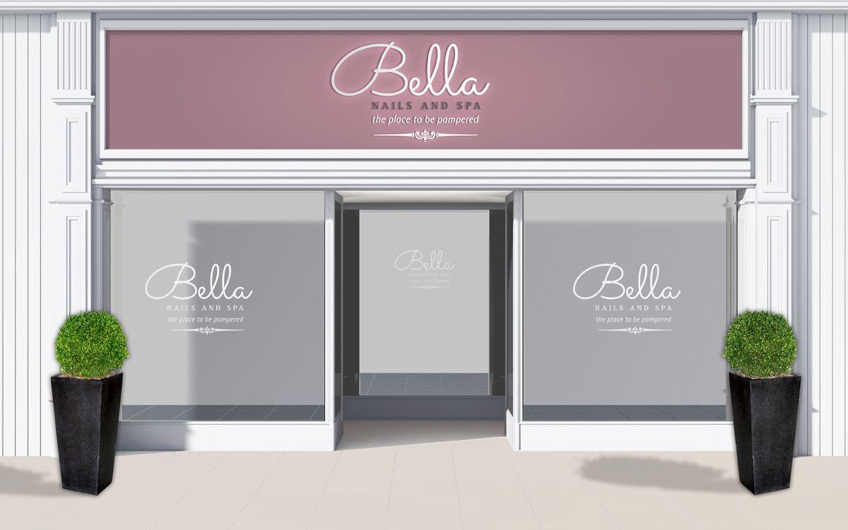 Bella Nail and spa shop front design | SPA DESIGN :: BOUNOA ...
