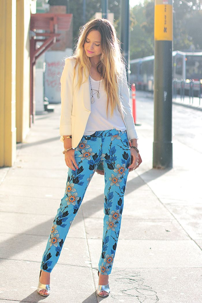 printed pant | late afternoon