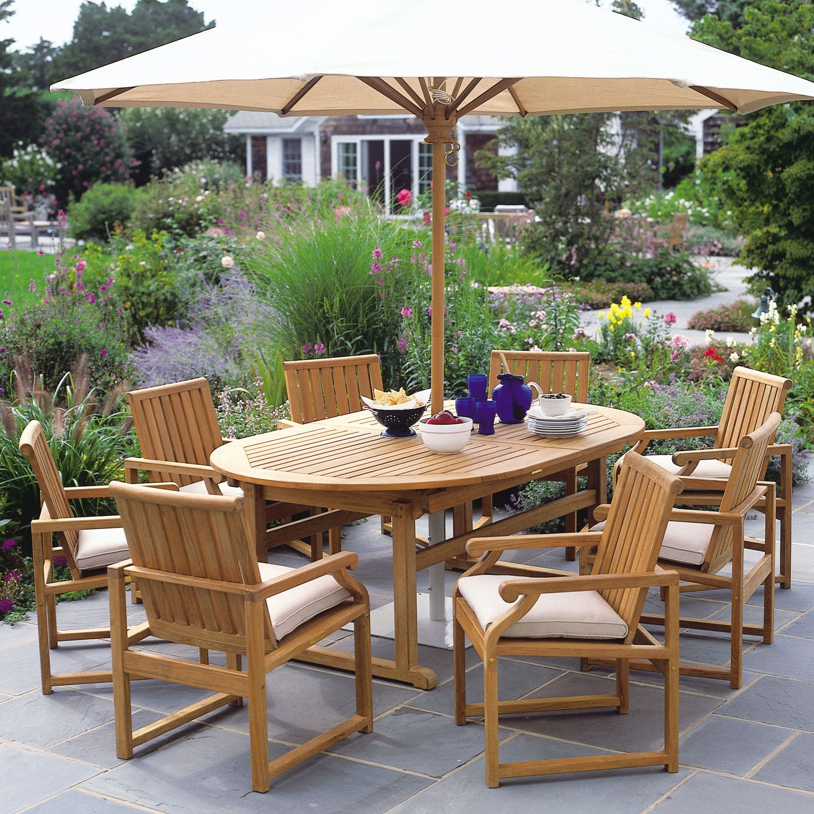 Essex Oval Extension Dining Table 100\
