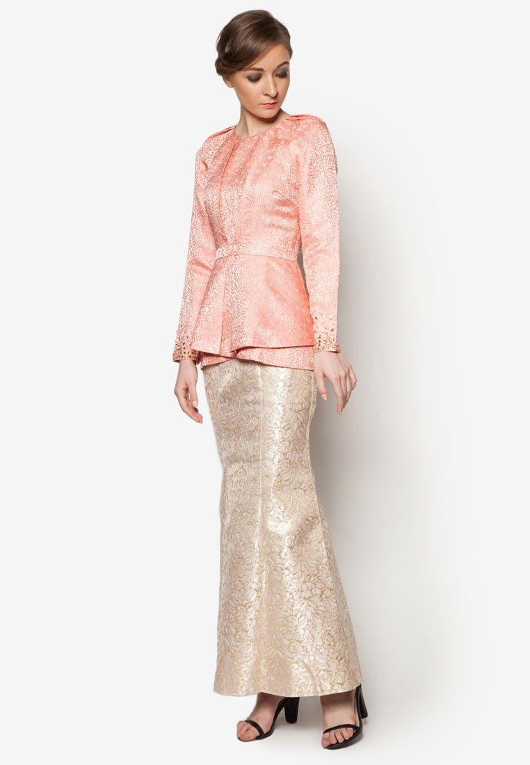 Peplum maxi dress poplook bag